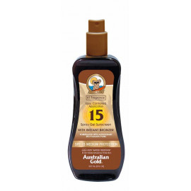 SPF15 Spray Gel with Bronzer