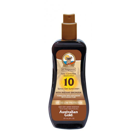 SPF10 Spray Gel with Bronzer