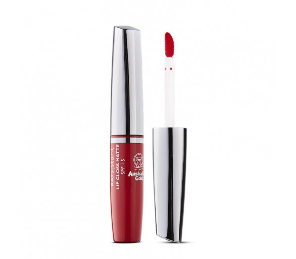 LIP GLOSS MATTE SPF 15 RED